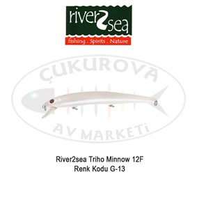 River2sea Triho Minnow 12F Suni Yem