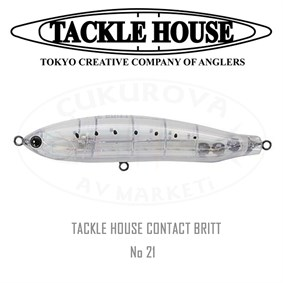 TACKLE HOUSE CONTACT BRITT CBP120
